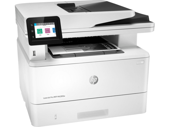 HP MFP M428fdw LaserJet Pro Multifunctional Printer - Printer / Scanner / Fax / Copy / Email / WiFi / White