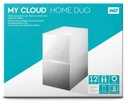Western Digital NAS My Cloud Home Duo 12TB / White