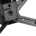 Klip KPM-590B- Universal Wall and Ceiling Projector Mount, Up To 44 Pounds - Black