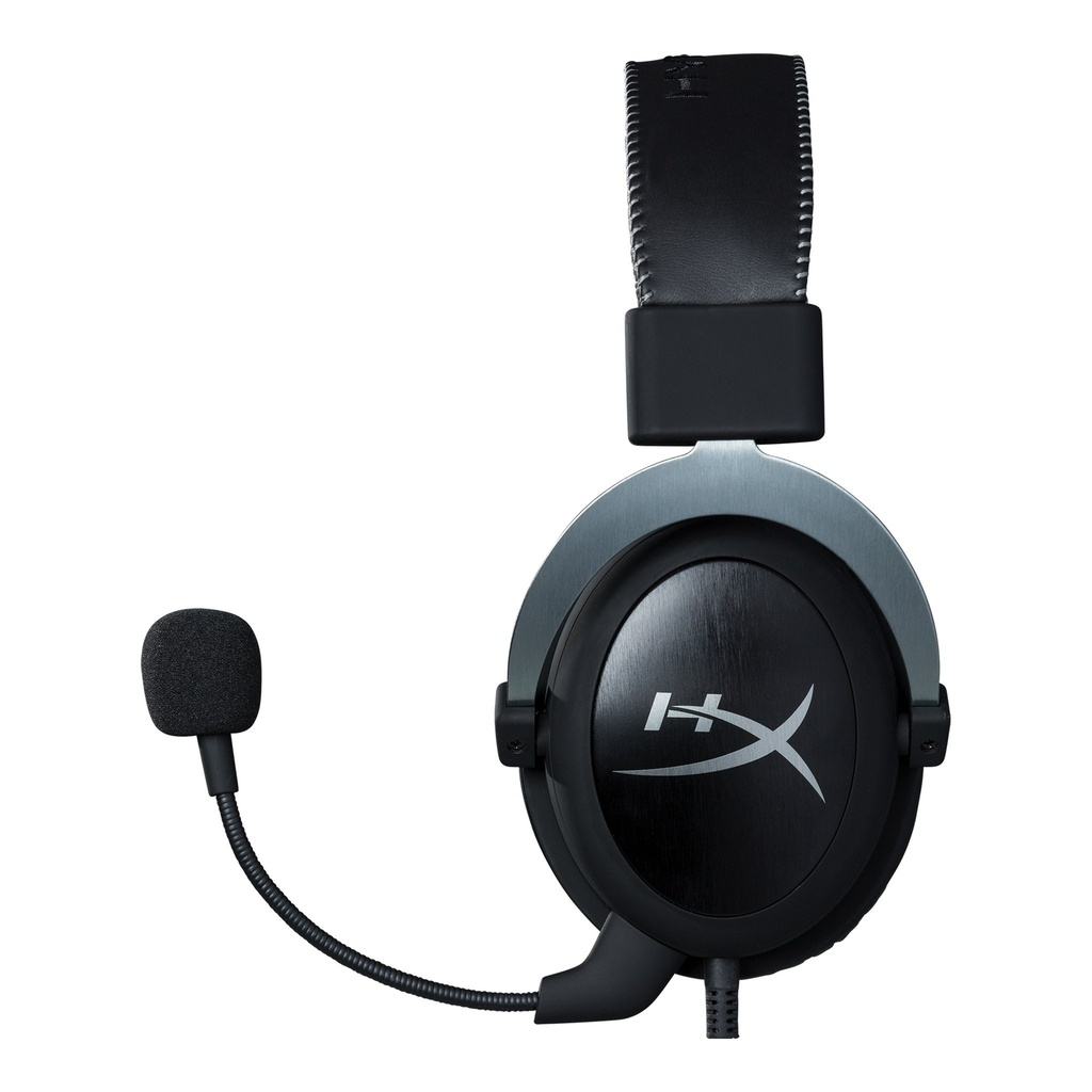 HyperX Cloud II Gaming Headset - 3.5mm & USB PC, PS4, Xbox One & Mobile / Virtual 7.1 / Negro - Metal